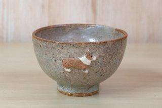 お茶碗 コーギー(レッド) - haru*物 -