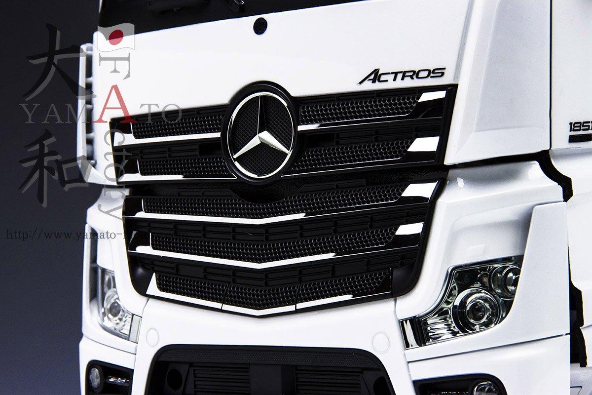 1/14トラック用 ACTROS ステンレス製グリルシート