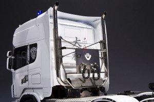1/14トラック用 V8ステンレス煙突マフラーキット VPQ-TY-1