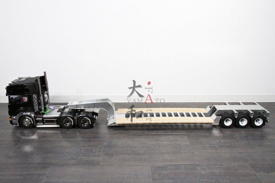 ローボーイトレーラー フルメタルモデル完成品