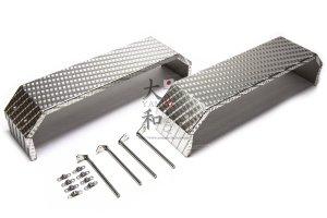 ステンレス製 縞板鋼板リアフェンダー