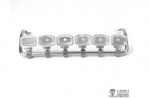 【取り寄せ】ACTROS用 6連角型ルーフバーライト