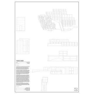 TADAO ANDO(安藤忠雄) アート ポスター 建築   Msize - BLOCK STDO -