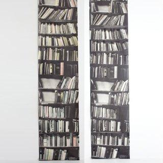 Genuine Fake Bookshelf 本棚 壁紙 ウォールペーパー -Deborah Bowness -