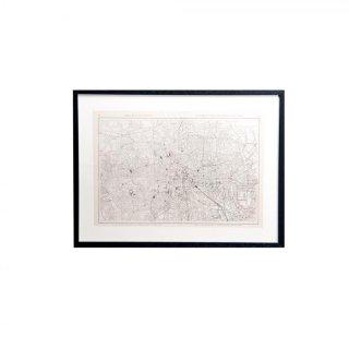 1914年代 アンティーク イギリス ロンドン マップ(地図) London Map 1914
