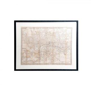 1831年代 アンティーク イギリス ロンドン マップ(地図) London Map 1831