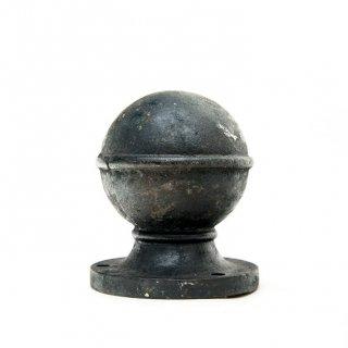 1900's ヴィンテージ 球状オーナメント  iron column ornament