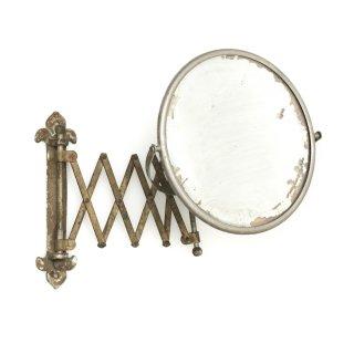 ヴィンテージ メイクアップ ミラー 壁面取付式 鏡