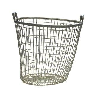 ワイヤーバスケット ヴィンテージ(フランス製)Lサイズ