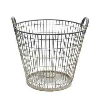 ワイヤーバスケット ヴィンテージ(フランス製)Mサイズ