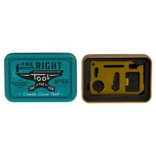クレジットカードツール(CREDIT CARD TOOL)定規 -Gentlemen's Hardware -
