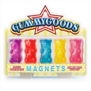グミベア マグネット(5色セット) GUMMY BEAR MAGNETS BY GUMMYGOODS
