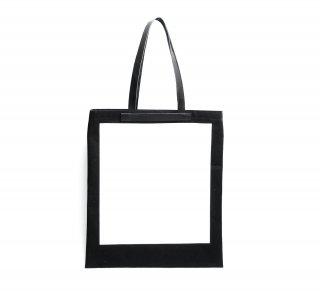キャンバス フレームトートバッグ(ブラック)  | GENERAL SUPPLY