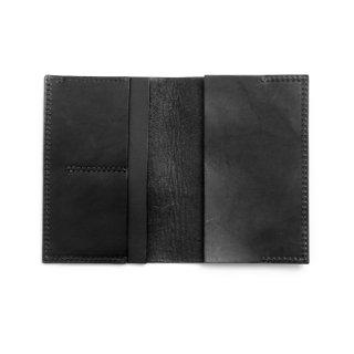 レザー パスポートケース(ブラック)  | GENERAL SUPPLY