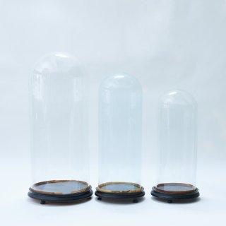イギリス アンティーク ガラスドーム(小)