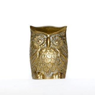 ヴィンテージ フクロウ(L) 真鍮製 アメリカ 1960年代