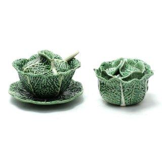 Majolica Leaf Bowl(SET) 1950年代 ポルトガル食器