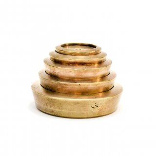アンティーク 真鍮ウェイト(5個SET)