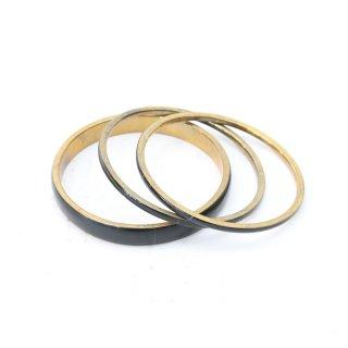 ブラック リング バングル 腕輪