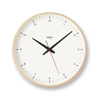 Lemnos Plywood clock 掛け時計 T1-0171