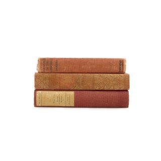 アンティーク 洋書 ・ 洋古書 3冊セット レッド