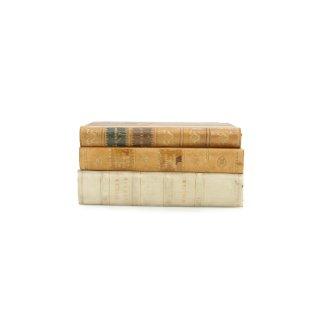 アンティーク 洋書 ・ 洋古書 3冊セット レザー ホワイト アエネーイス