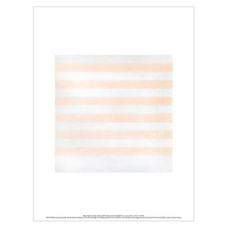 'Happy Holiday', Agnes Martin「アグネス・マーティン」, 1999 アートプリント