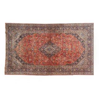 アンティーク ペルシャ絨毯 ラグマット カーペット ラージサイズ