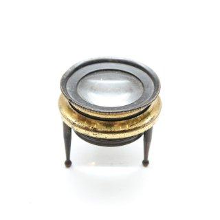 ヴィンテージ 真鍮 小型 ルーペ
