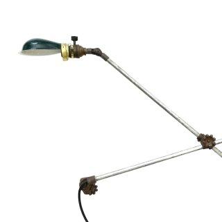 O.C.WHITE インダストリアル グリーン ウォールランプ 1920-40年代アンティーク 照明器具