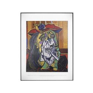 パブロ・ピカソ  「泣く女」 1937 アートプリント フレームセット