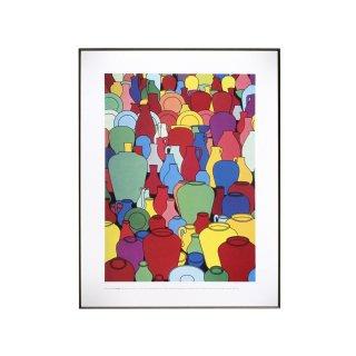 パトリック・コールフィールド  「Pottery」 1969 アートプリント フレームセット