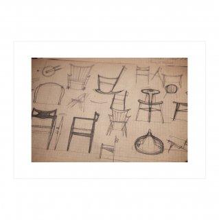アートポスター 「ドローイング」(025)  | GENERAL SUPPLY