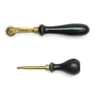 裁縫用 真鍮製 ルレット かぎ針 セット