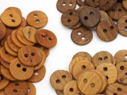 木のデザインボタン