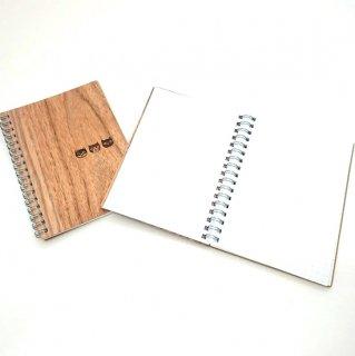 北海道産木のノート(A6)うちのねこ