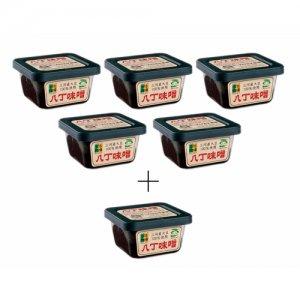 限定 三河産大豆の八丁味噌300g×5個セット(+1個プレゼント)