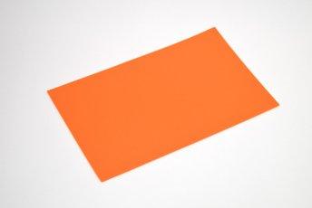 長方形シート 200mm×330mm×2mm オレンジ