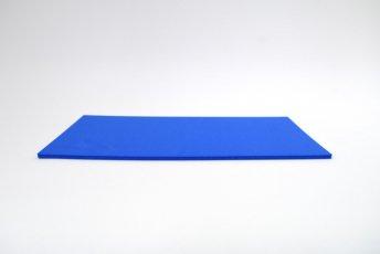 長方形シート 200mm×330mm×5mm ブルー