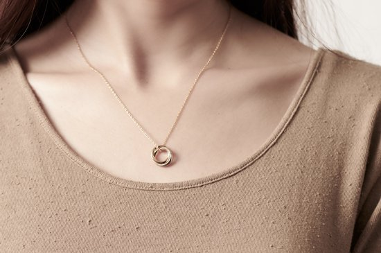 mobius double necklace