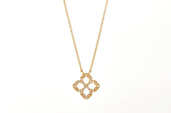kiso flower necklace