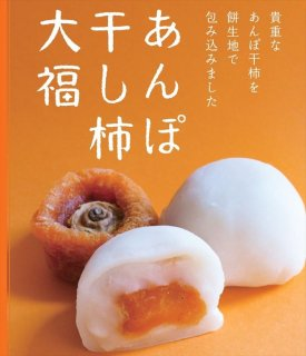 あんぽ干柿大福 9個