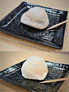 佐渡の栃の実大福・あんぽ干柿大福セット