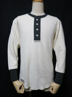 Classical Henley Neck Mesh L/S Tee LOT1199