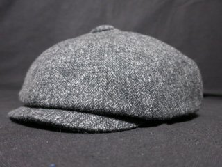 Dapper's MW Type GM Casquette LOT1162 DARK CHACOLE (Herringbone)