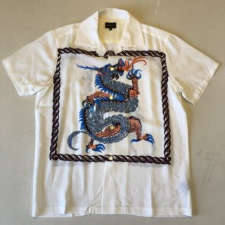 <img class='new_mark_img1' src='//img.shop-pro.jp/img/new/icons2.gif' style='border:none;display:inline;margin:0px;padding:0px;width:auto;' />The GROOVIN HIGH Vintage Style 50'S Dragon panel Box Shirt Short Sleeves