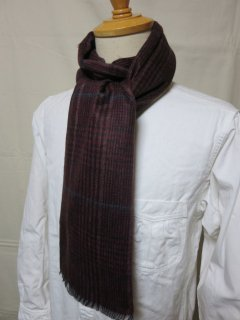 <img class='new_mark_img1' src='https://img.shop-pro.jp/img/new/icons25.gif' style='border:none;display:inline;margin:0px;padding:0px;width:auto;' />Dappre's   Cashmink Scarf by V.FRAAS LOT1210  WINE RED