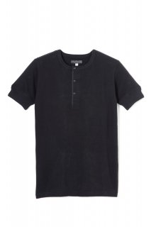 <img class='new_mark_img1' src='https://img.shop-pro.jp/img/new/icons1.gif' style='border:none;display:inline;margin:0px;padding:0px;width:auto;' />WEAR MASTERS Lot.612 Henley Neck Tee -Black-