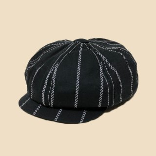 <img class='new_mark_img1' src='https://img.shop-pro.jp/img/new/icons1.gif' style='border:none;display:inline;margin:0px;padding:0px;width:auto;' />DAPPER'S  MW Type GM Casquette LOT1347 BLACK ROPE WABASH STRIPE