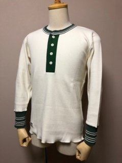 <img class='new_mark_img1' src='https://img.shop-pro.jp/img/new/icons1.gif' style='border:none;display:inline;margin:0px;padding:0px;width:auto;' />DAPPER'S Classical Henley Neck Mesh L/S Tee LOT1421
